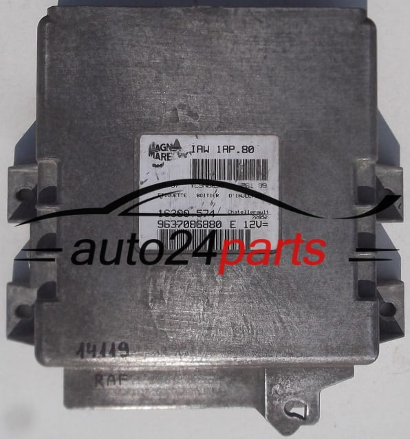 ecu engine controller peugeot 206 1.1, magneti marelli iaw 1ap.80