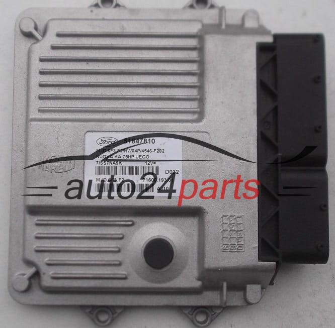 Ecu Engine Controller Ford Ka Nuova Magneti Marelli Mjd F