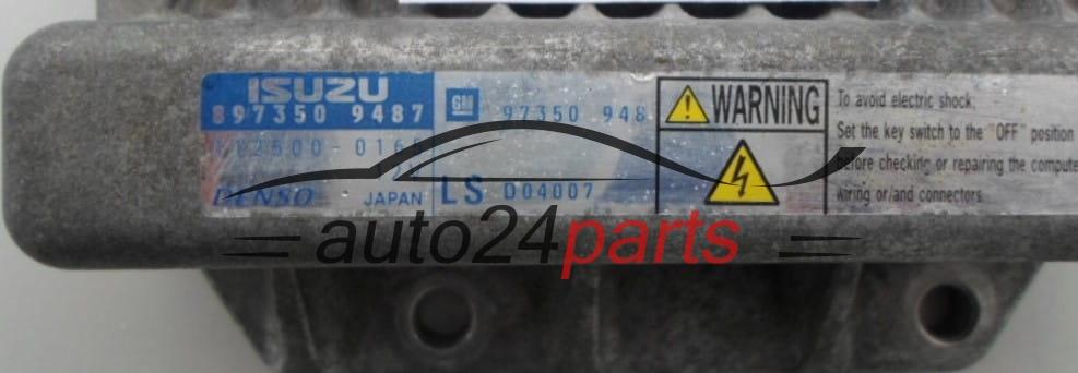 les pi 232 ces automobiles calculateur moteur opel meriva 1 7 cdti isuzu 897350 9487 8973509487