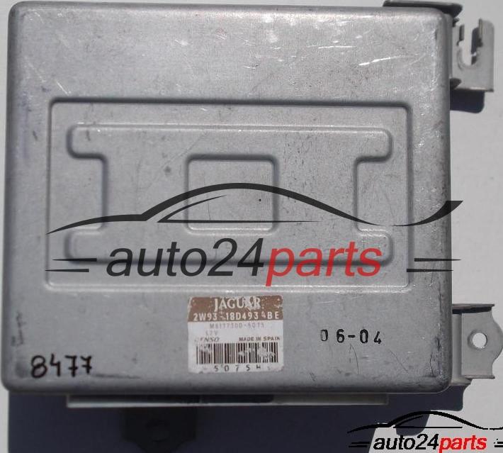 ECU ENGINE CONTROLLER JAGUAR X350, XJR, 2W93-18D493-BE, 2W9318D493BE