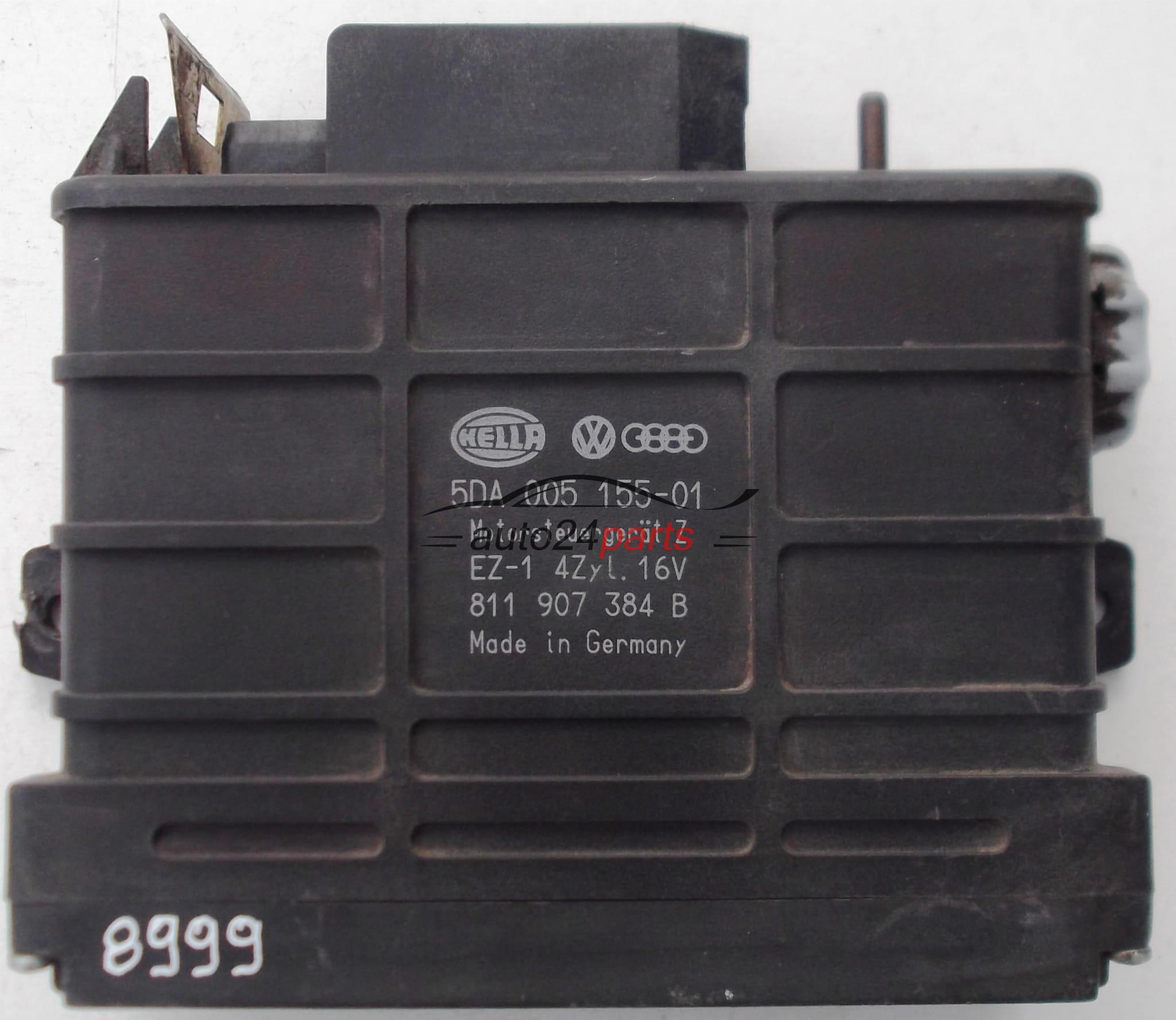 Ignition control module VOLKSWAGEN AUDI HELLA 5DA 005 155-01, 5DA00515501,  811 907 384 B, 811907384B