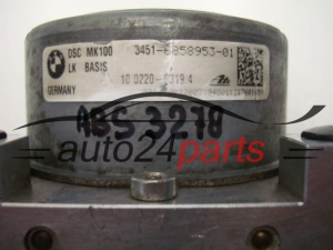 ABS PUMP BMW 3451-6858953-01, 3451685895301, 10.0220-0319.4, 10022003194, 6861376