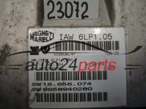 ECU ENGINE CONTROLLER CITROEN IAW 6LP1.05, IAW6LP105, 9658940280