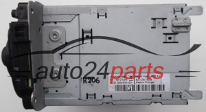 RADIO CD MP3 SEAT IBIZA  6J0 035 153 B / 6J0035153B - R206