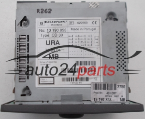RADIO CD  OPEL VECTRA 13 190 853 BM / 13190853MB / 7 644 222 310 / 7644222310 / CD30 -  R262
