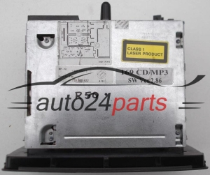 RADIO CD / MP3  FIAT PANDA 169  7 643 385 316 / 7643385316 / 735 380 922 / 735380922 / 815 PB338549012254 - R50