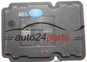 ABS POMPA I STEROWNIK MERCEDES C-CLASS A 006 431 26 12, A0064312612, ATE 10.0212-0098.4, 10021200984,  A 204 545 47 32, A2045454732, 10.0926-1570.3, 10092615703 - 2909