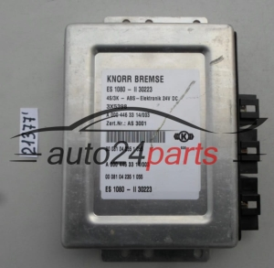 ABS STEROWNIK MERCEDES ATEGO 3X5398, AS 3001, ES 1080 - II 30223 KNORR BREMSE A0004463314, 0004463314, A 000 446 33 14/005 - 21377