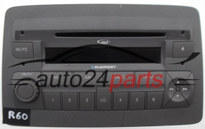 RADIO CD MP3 FIAT 169  7 646 386 616 / 7646386616 / 815 BP6388 7 5768146 / 815BP638875768146 - R60