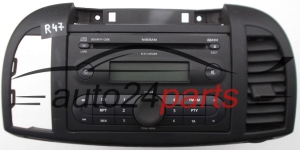 RADIO CD NISSAN MICRA   7 645 365 318 / 7645365318 / BP5365 5 6444115 - R47