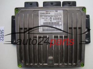ECU ENGINE CONTROLLER CITROEN R0411C023C, 9648966680, 9654305780