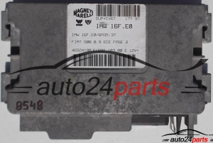 CALCULATEUR MOTEUR FIAT 500 0.9 IAW 16F.E0, IAW16FE0, 46524180  (1) (1)