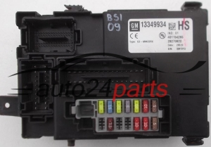 FUSE RELAY BOX ELECTRICAL COMFORT CONTROL MODULE BODY OPEL CORSA D 13349934 HS, 401154265, 28270822