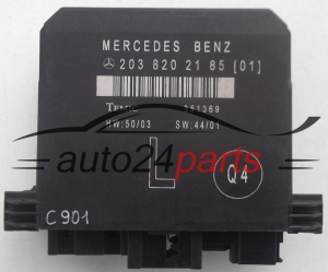 CENTRALKA MODUL STEROWNIK DRZWI MERCEDES TEMIC 351369, 203 820 21 85 (01), 2038202185 - C901