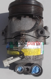 COMPRESSOR AIR CONDITIONING CON AIR CONDITIONING PUMP  OPEL ASTRA 1.3 CDTI Z13DTH GM 13124754 WH, 383601234, DELPHI 4754