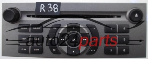 RADIO CD RD4 D2 N2 PEUGEOT CITROEN 7 643 141 392 / 7643141392 / 815 BP314152858027 - R38