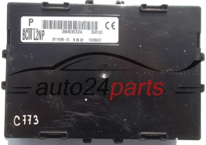 CENTRALKA MODUL STEROWNIK NISSAN MICRA K12 284B2BC52A, BCM L2NP, BCML2NP, 28119296-2C, 281192962C - C773