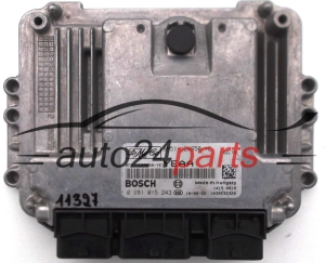 CALCULATEUR MOTEUR  FORD MONDEO 1.8 TDCI BOSCH 0 281 015 243, 0281015243, 8M51-12A650-YE, 8M5112A650YE, YEAA