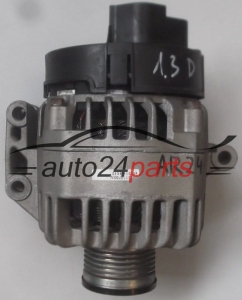 ALTERNATOR OPEL 1.3 CDTI DENSO MS102211-8612, MS1022118612, BA 13256930, 70 A - AR24, AR27