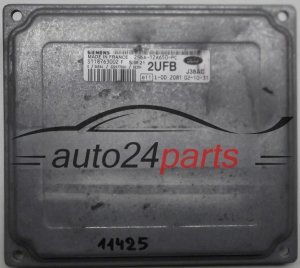 CALCULATEUR MOTEUR  FORD FIESTA S118763002 F, S118763002F, 2S6A-12A650-PC, 2S6A12A650PC, 2UFB