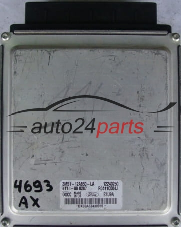 ECU ENGINE CONTROLLER FORD FOCUS 1.8 TDCI 3M5112A650LA