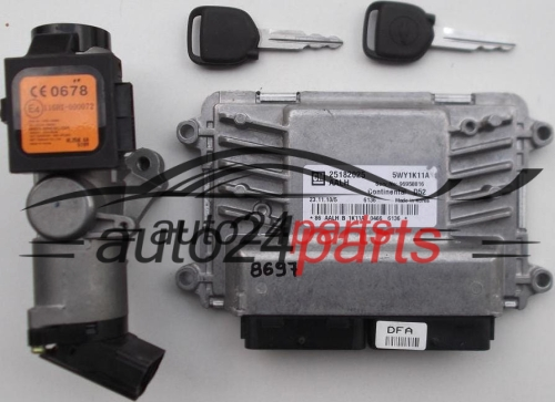 CALCULATEUR MOTEUR CHEVROLET SPARK CONTINENTAL D52 5WY1K11A, GM 25182025 AALH