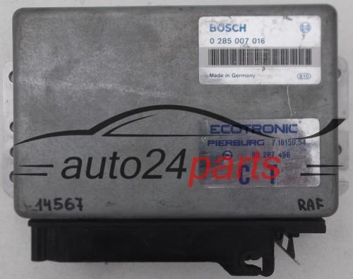 блок управления bosch на опель калибра c20ne