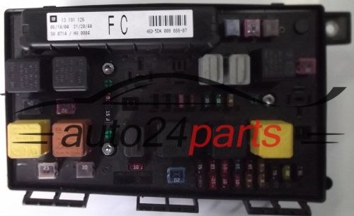 Fuse Relay Box Electrical Comfort Control Module Body Opel Chevrolet Holden Vauxhall Astra