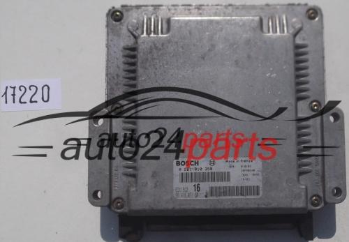 Ecu Engine Controller Citroen Xsara Picasso 2 0 Hdi Bosch 0 281 010 358  0281010358  96 416 071