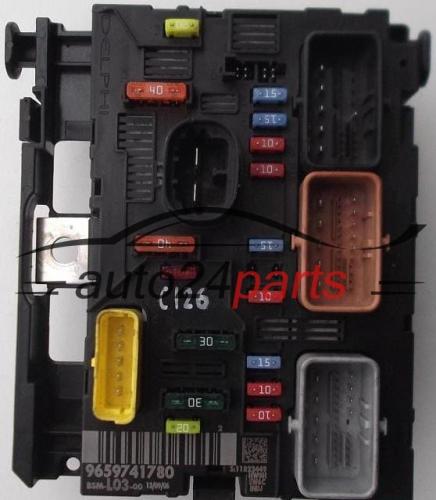 les pi ces automobiles confort module citroen c2 9659741780 bsm l03 00. Black Bedroom Furniture Sets. Home Design Ideas