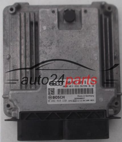 ECU ENGINE CONTROLLER AUDI A8 BOSCH 0 281 018 150