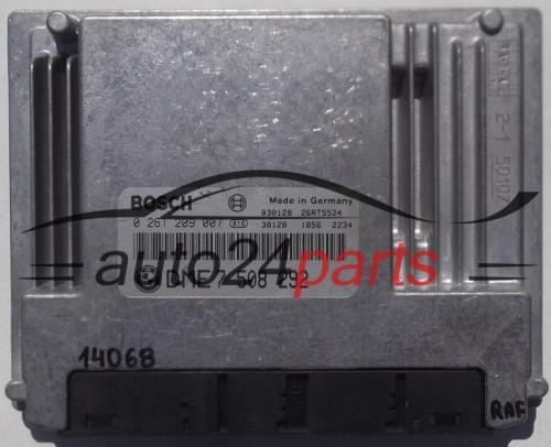 ECU ENGINE CONTROLLER BMW 3ER E46 BOSCH 0 261 209 007, 0261209007, DME 7  508 292, 7508292