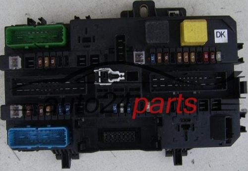 Fuse Box Holden Astra 2001 : Fuse relay box electrical comfort control module body opel