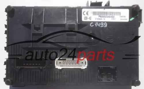 Comfort Control module RENAULT CLIO Sagem 21 673923-7A, 216739237A,  P8200234045A