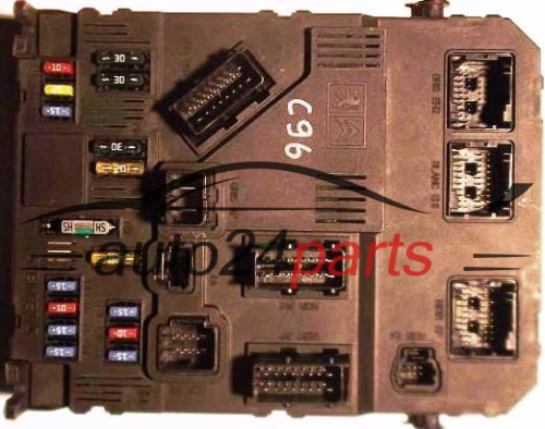 COMFORT CONTROL MODULE BSI PEUGEOT 407 BSI-S02-00 SIEMENS S120104700I,  S120104700 I, 9655221080