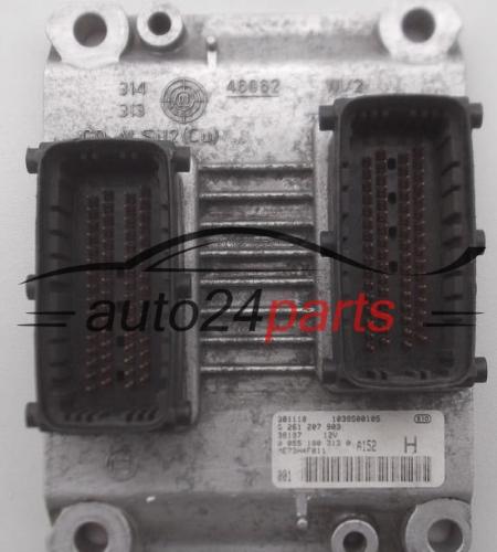 Ecu Engine Controller Fiat Punto 1 2 16v Bosch 0261207903