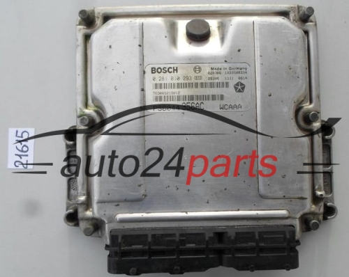 ECU ENGINE CONTROLLER JEEP GRAND CHEROKEE 2 7 CRD BOSCH 0 281 010 293,  0281010293, P56044356AC