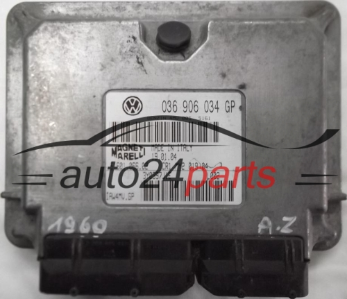 ECU ENGINE CONTROLLER VW VOLKSWAGEN POLO 1.4 BBY 036906034GP