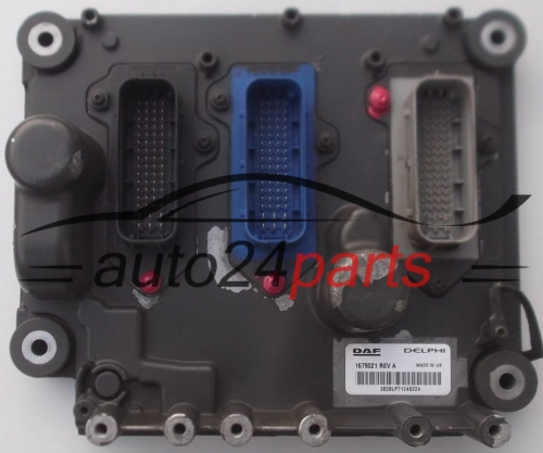 ECU ENGINE CONTROLLER DAF XF105 DELPHI 1679021 REV A